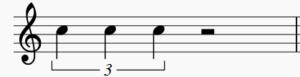 2拍3連符